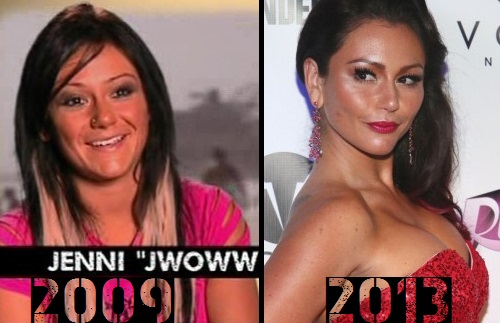 jwoww before and after