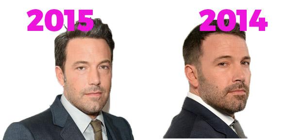 Ben Affleck 2015 vs 2014