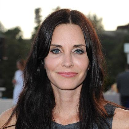 courtney cox not a line on her face