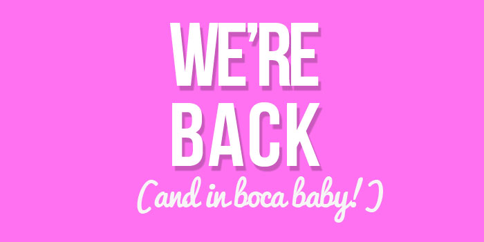 boca skin blog is back